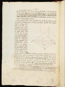 "Skjermbilde fra ""Philosophiæ Naturalis Principia Mathematica"""